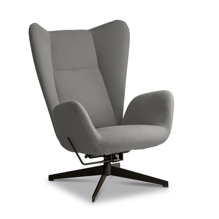 BISCUIT Sessel 360042550511 Farbe Hellgrau Grösse B: 78.0 cm x T: 85.0 cm x H: 110.0 cm Bild Nr. 1
