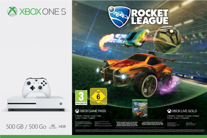 Xbox One S 500GB Konsole - Rocket League Bundle Microsoft 785438000000 Photo no. 1
