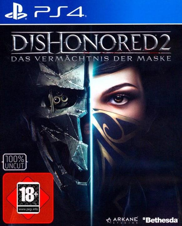 PS4 - Dishonored 2 D Fisico (Box) 785300130586 N. figura 1