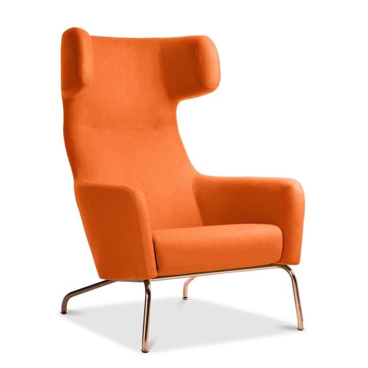 SENADO Fauteuil 360043210801 Dimensions L: 79.0 cm x P: 96.0 cm x H: 107.0 cm Couleur Orange Photo no. 1