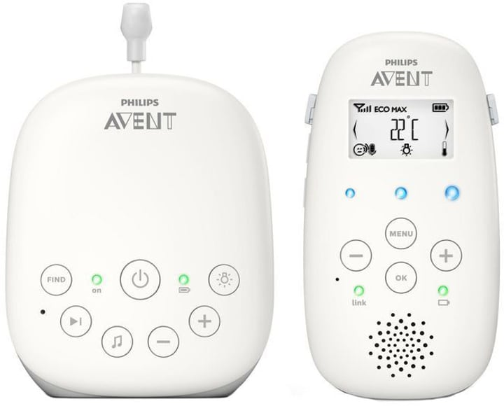Avent Smart-Eco SCD713/26 Babyphone Philips 785300143150 Photo no. 1