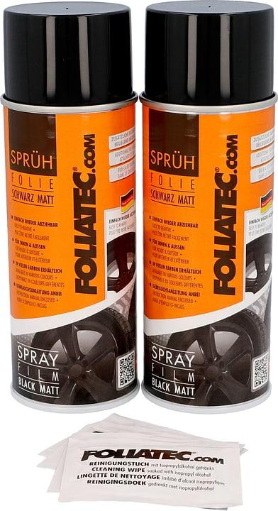 Pellicola Spray nero opaco 400 ml 2pz Spray per cerchioni FOLIATEC 620283800000 N. figura 1