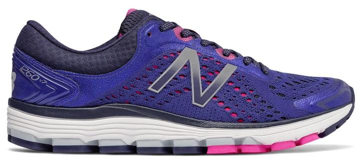 1260v7 Chaussures de course pour femme New Balance 463212940540 Couleur bleu Taille 40.5 Photo no. 1