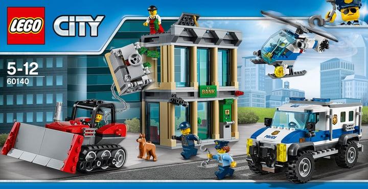 LEGO City Rapina con il bulldozer 60140 748833800000 N. figura 1