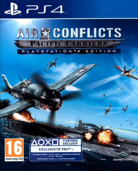 PS4 - Air Conflicts Pacific Carriers Box 785300121831 N. figura 1