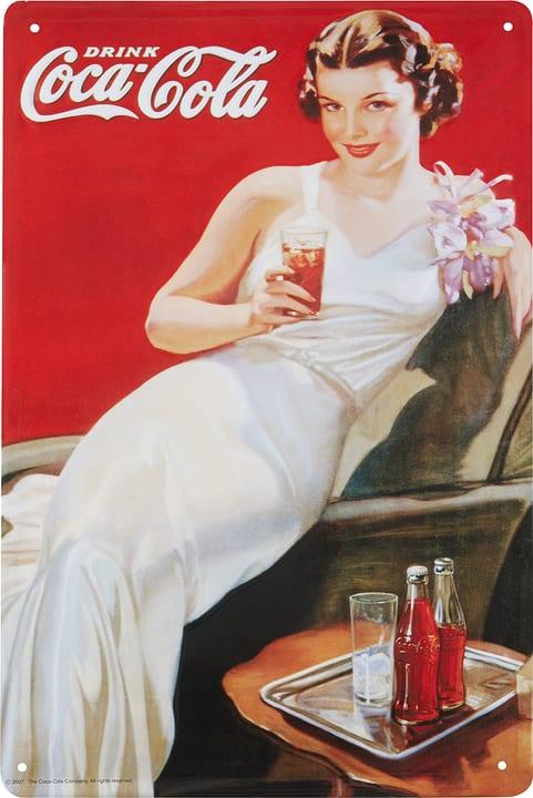 Werbe-Blechschild Drink Coca Cola 605059200000 Bild Nr. 1