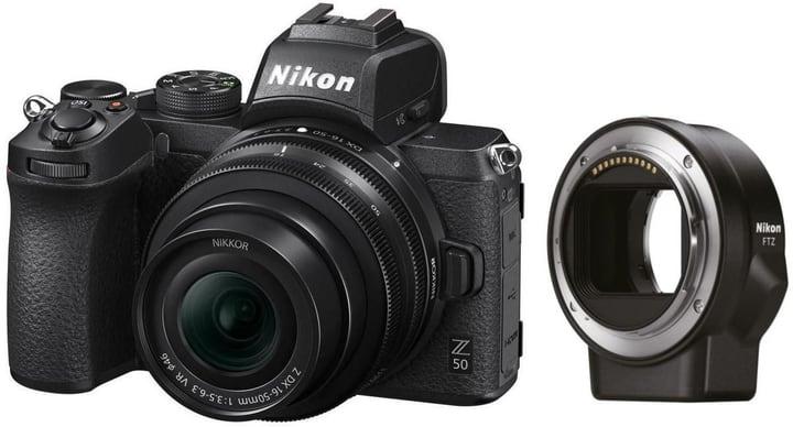 Z 50 Kit 16-50mm 3,5-6,3 VR DX+FTZ Set appareil photo rhybrid Nikon 785300148437 Photo no. 1