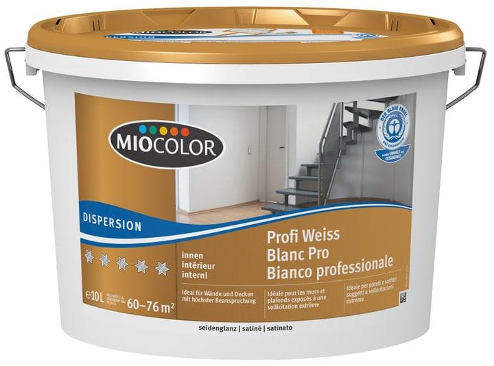 Dispersion Profi seidenglanz Miocolor 660730500000 Farbe Weiss Inhalt 10.0 l Bild Nr. 1