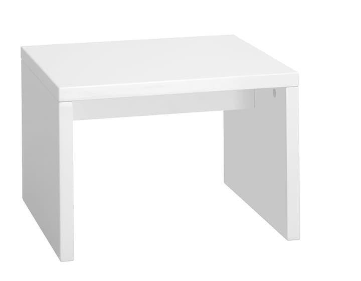 LEBLANC Table de chevet 403465185010 Dimensions L: 45.0 cm x P: 38.0 cm x H: 30.5 cm Couleur Blanc Photo no. 1