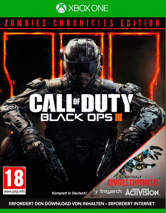 Xbox One - Call of Duty: Black Ops III - Zombie Physique (Box) 785300128205 Photo no. 1