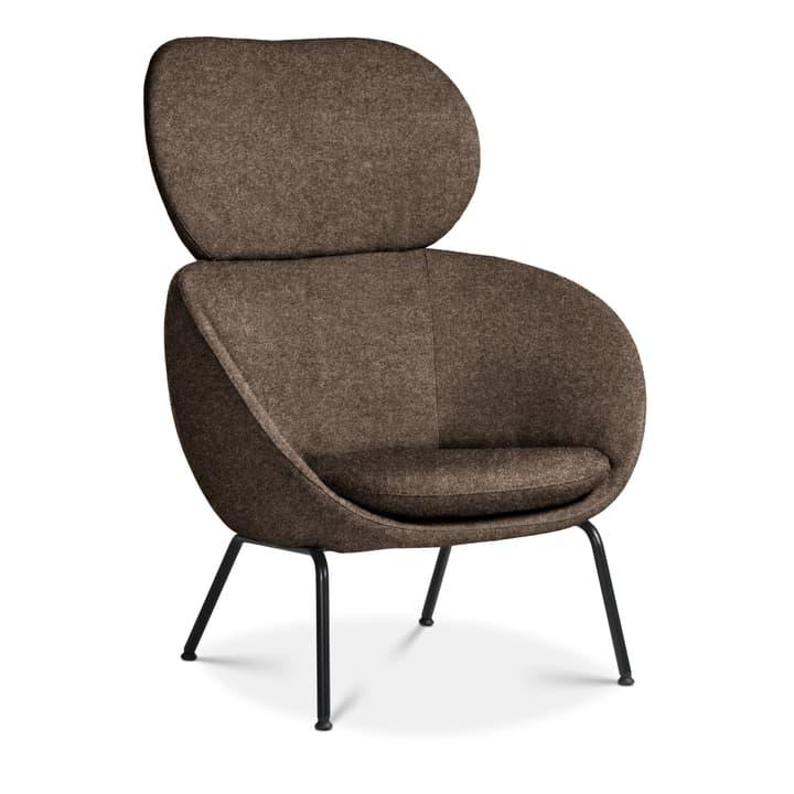 SAPO Sessel Edition Interio 360434107073 Grösse B: 84.0 cm x T: 85.0 cm x H: 110.0 cm Farbe Dunkelbraun Bild Nr. 1