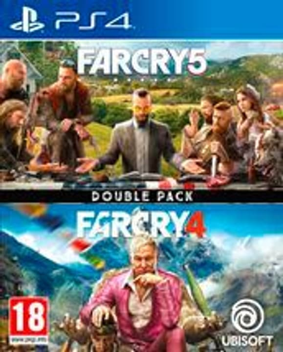 PS4 - Far Cry 4 & Far Cry 5 - Double Pack Box 785300144701 Photo no. 1