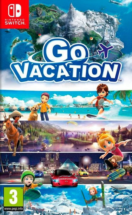 Switch - Go Vacation (I) Box Nintendo 785300135878 Bild Nr. 1
