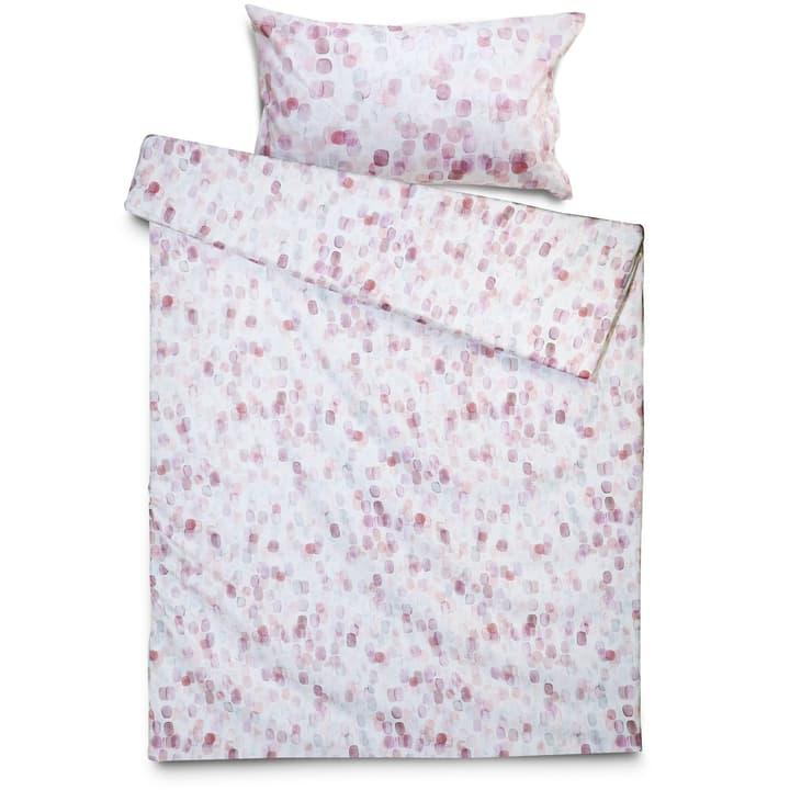 AURORA Federa per cuscino raso 376030719403 Colore Rosso Dimensioni L: 100.0 cm x L: 65.0 cm N. figura 1