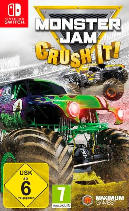 NSW - Monster Jam: Crush it! D Physique (Box) 785300130304 Photo no. 1