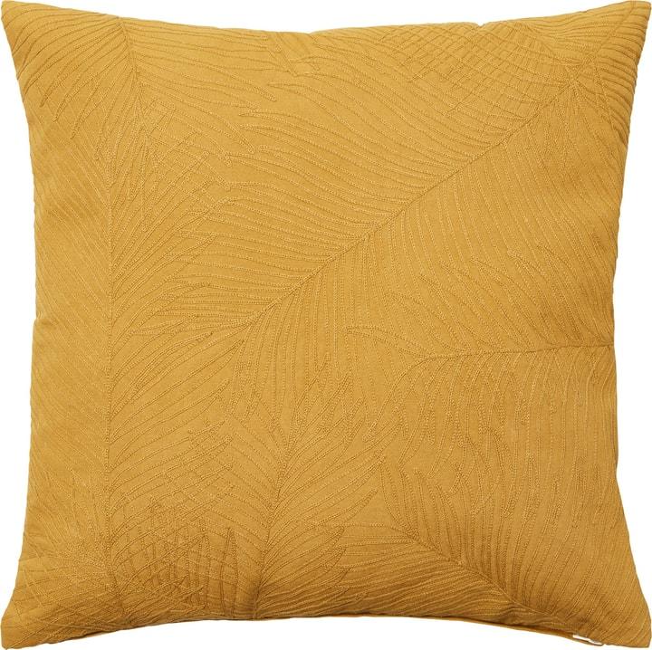 FOLLAJE Coussin décoratif 450749840850 Couleur Jaune Dimensions L: 45.0 cm x H: 45.0 cm Photo no. 1