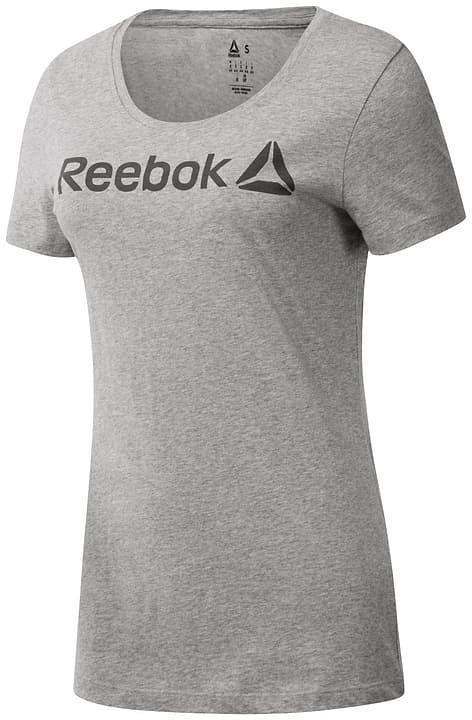 REEBOK LINEAR RED Shirt pour femme Reebok 464925300281 Couleur gris claire Taille XS Photo no. 1