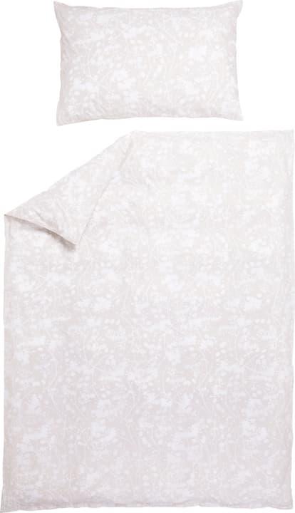MORENA Fourre de duvet en percale 451281912372 Couleur Beige Dimensions L: 160.0 cm x H: 210.0 cm Photo no. 1
