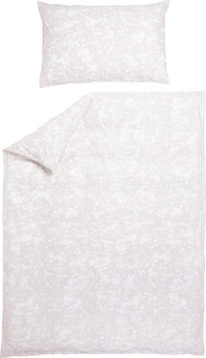 MORENA Taie d'oreiller en percale 451281910972 Couleur Beige Dimensions L: 65.0 cm x H: 100.0 cm Photo no. 1