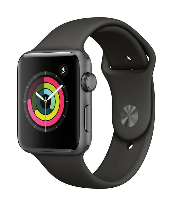 Watch Series 3 GPS 42mm spacegray/gray Apple 785300130001 N. figura 1
