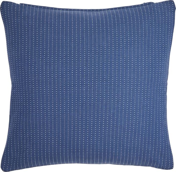 VALENTIN Zierkissenhülle 450749740840 Grösse B: 45.0 cm x H: 45.0 cm Farbe Blau Bild Nr. 1