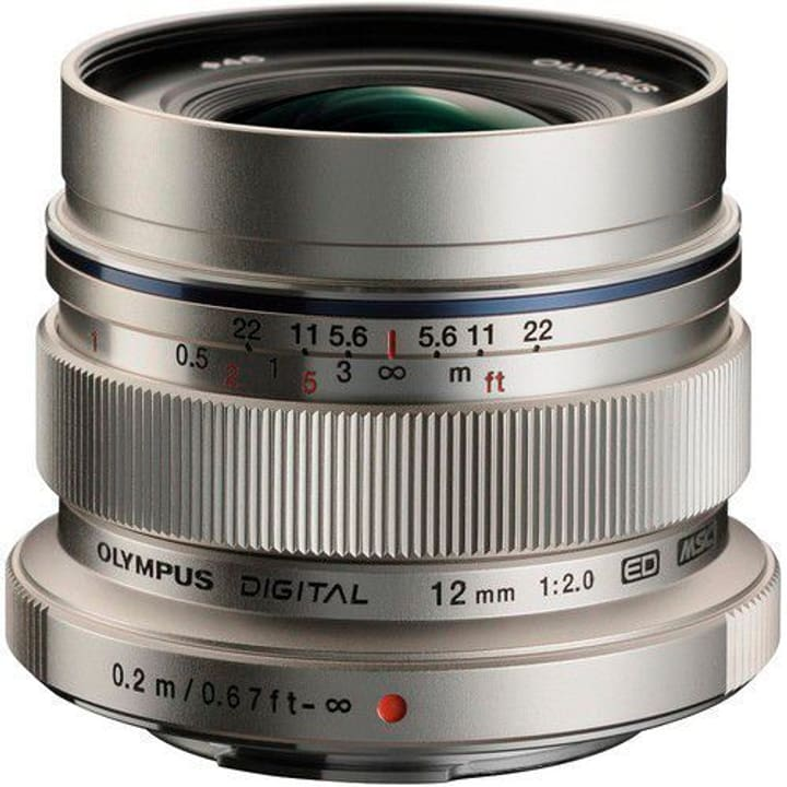 M.Zuiko 12mm F:2.0 argento Obiettivo Olympus 785300125763 N. figura 1
