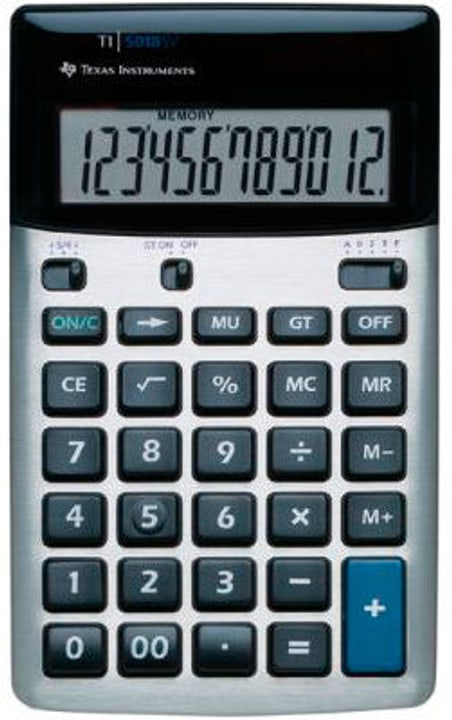 Grundrechner TI5018SV 12-stellig Grundrechner Texas Instruments 785300151422 Bild Nr. 1
