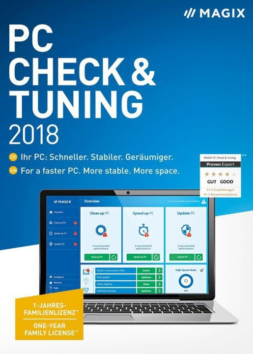 PC - Check & Tuning 2018 (D) Fisico (Box) Magix 785300129420 N. figura 1