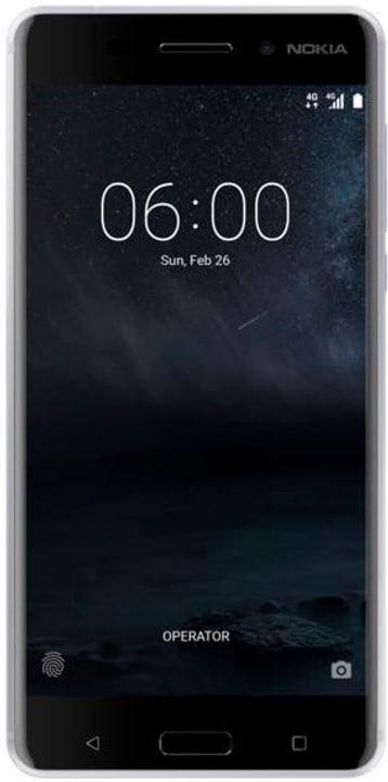 6 Dual-Sim argent Smartphone Nokia 794619800000 Photo no. 1