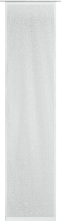 ARLO Flächenvorhang 430582530410 Farbe Weiss Grösse B: 60.0 cm x H: 245.0 cm Bild Nr. 1