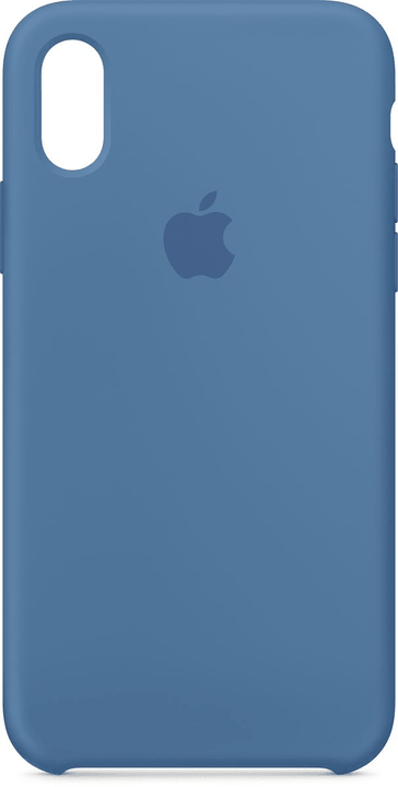 iPhone X Silicone Case Denim Blue Apple 785300135038 Bild Nr. 1