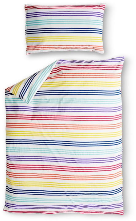 IKER Parure de lit 451260214491 Couleur Multicouleur Dimensions L: 160.0 cm x H: 210.0 cm Photo no. 1