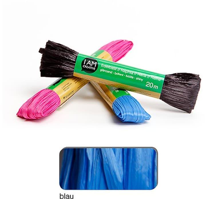 Rafia mat I AM CREATIVE 665524700040 Colore Blu N. figura 1