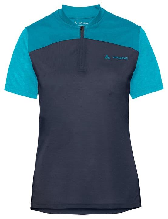 Women's Tremalzo Shirt IV Maillot à manches courtes pour femme Vaude 461351604243 Couleur bleu marine Taille 42 Photo no. 1