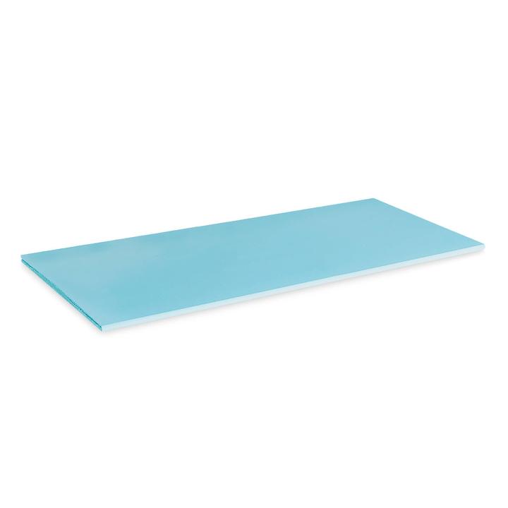 VIDO Tablar / Trennwand A1 362011479305 Grösse B: 75.6 cm x T: 31.0 cm x H: 1.2 cm Farbe Hellblau Bild Nr. 1