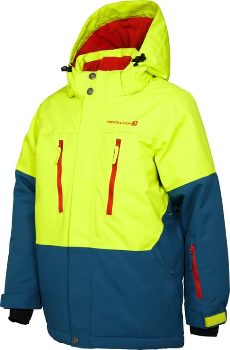 Knaben-Snowboardjacke Trevolution 466932316462 Farbe neongrün Grösse 164 Bild-Nr. 1