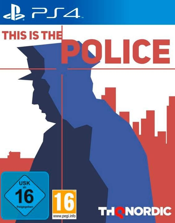 PS4 - This is the Police Fisico (Box) 785300121769 N. figura 1