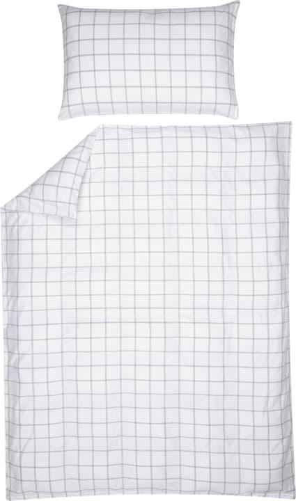 CRISTIANO Taie d'oreiller en percale 451194010910 Couleur Blanc Dimensions L: 100.0 cm x H: 65.0 cm Photo no. 1
