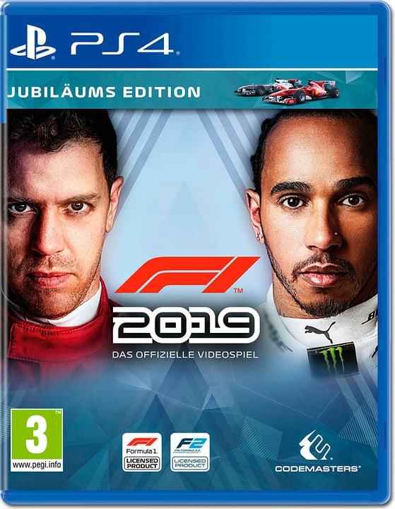 PS4 - F1 2019 Jubiläums Edition Box 785300143950 Langue Allemand Plate-forme Sony PlayStation 4 Photo no. 1