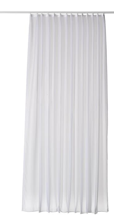 VOILE UNI Rideau prêt à poser jour avec galets 430221800000 Couleur Blanc Dimensions L: 300.0 cm x H: 220.0 cm Photo no. 1