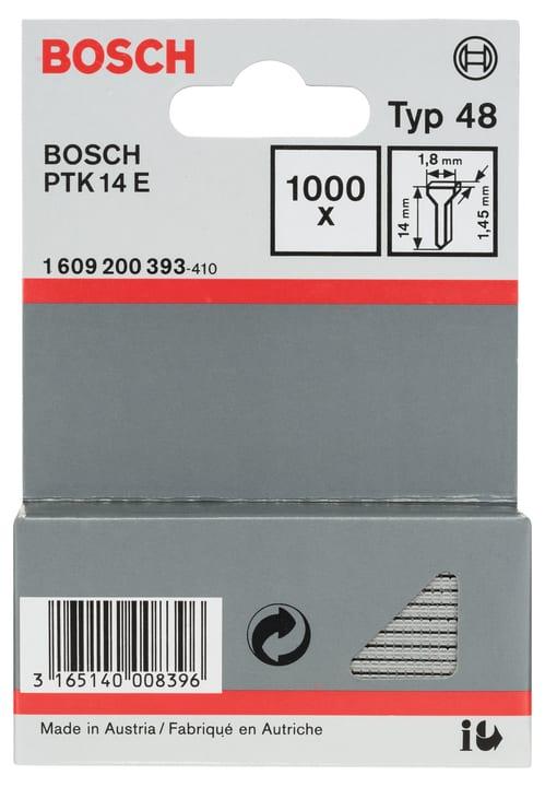 Clous pour agrafeuses PTK 14E Bosch 617102300000 Photo no. 1