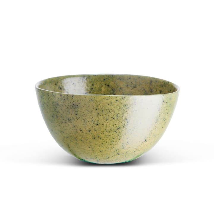 LAGOS Schüssel 393117300000 Grösse B: 15.0 cm x T: 15.0 cm x H: 8.0 cm Farbe Olive Bild Nr. 1