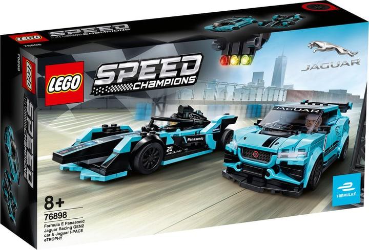 LEGO Speed 76898 Formula E Panasonic Jaguar Racing GEN2 car & Jaguar I-PACE eTROPHY 748738900000 Photo no. 1