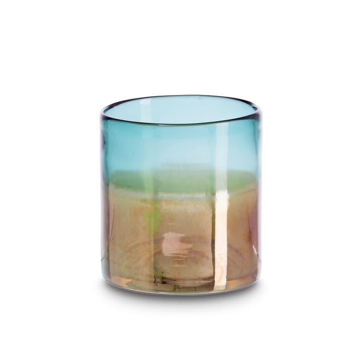 SAILA Porte-bougies chauffe-plat 396078300000 Dimensions L: 10.0 cm x P: 10.0 cm x H: 10.0 cm Couleur Turquoise Photo no. 1