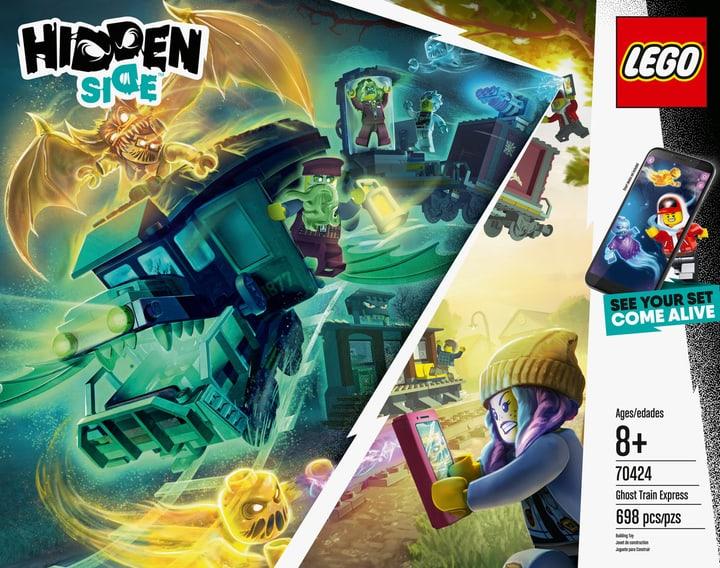 LEGO HIDDEN 70424 Le train-fantôme 748720500000 Photo no. 1