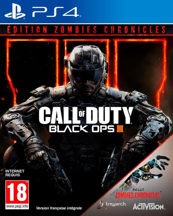 PS4 - Call of Duty: Black Ops III - Zombie 785300128204 Photo no. 1