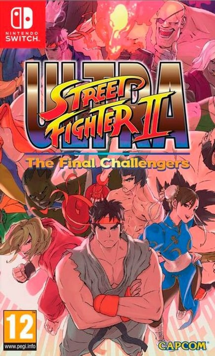 Switch - Ultra Street Fighter II: The Final Challengers Fisico (Box) 785300122270 N. figura 1