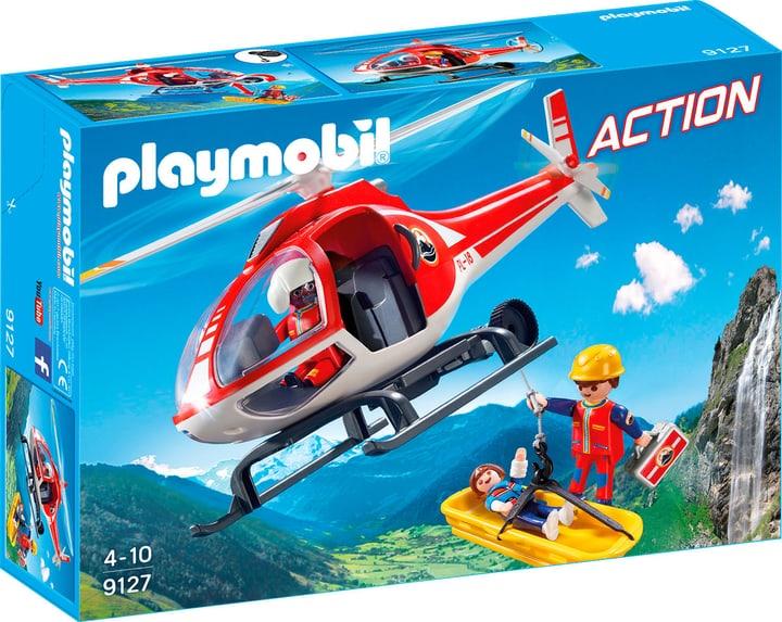 Playmobil Action Secouristes des montagnes avec hélicoptère 9127 746074300000 Photo no. 1