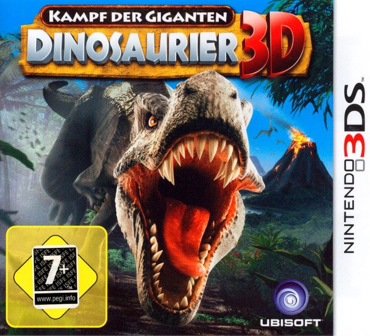 3DS - Dinosaurier 3D Box 785300128872 N. figura 1