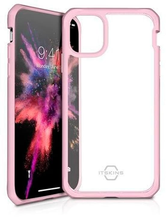 Hard Cover HYBRID SOLID pink transparent Coque ITSKINS 785300149366 Photo no. 1